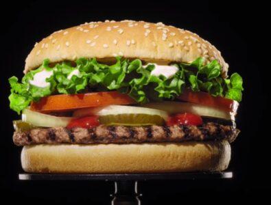 Видеореклама бургер кинг 2020 года