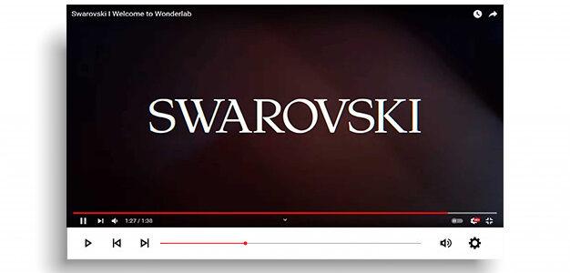 рекламу Сваровски сняли в Киеве